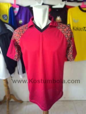 Desain jersey futsal batik