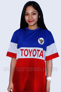 Kaos Bola Team Toyota Indonesia