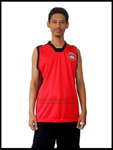 Desain Kaos Basket
